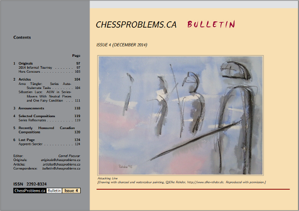 ChessProblems.ca Bulletin - Issue 4, December 2014